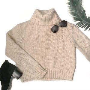 J. Crew Chunky Turtleneck Sweater Size XXS